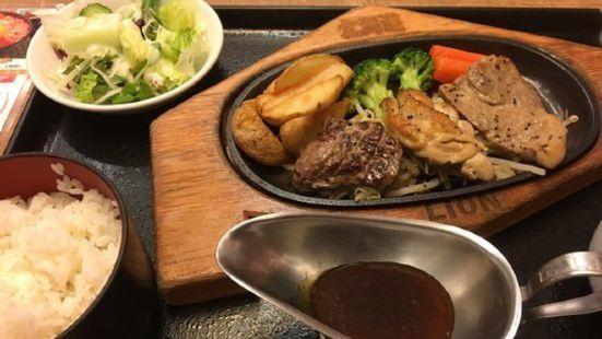 Hokkaido food restaurant Ginza Lion Shin Chitose Airport Fleur