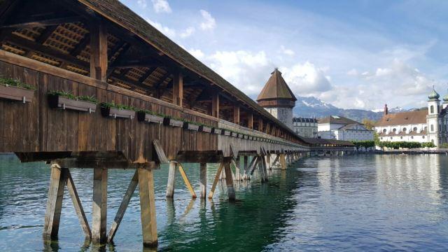Chapel Bridge and Water Tower
