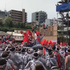 오사카 텐만구 여행 사진