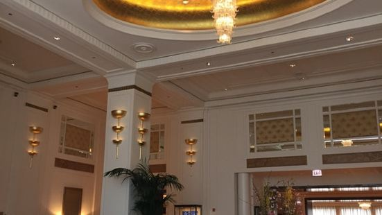 The Lobby at the Peninsula Hotel