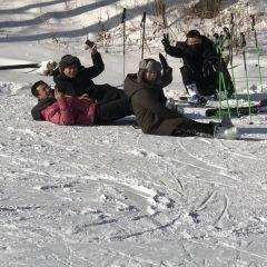 롄화산 스키장 여행 사진