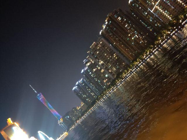 珠江夜遊天字碼頭