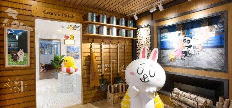 LINE FRIENDS 杭州湖濱銀泰in77店3