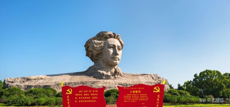 毛澤東青年藝術雕塑2