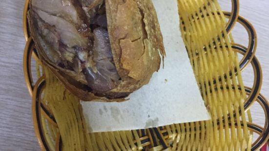 老北京燒餅夾肉