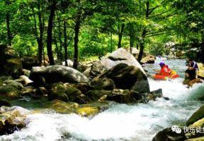誰說天熱就不能爬山,溯溪是另一種徒步的方式,而漂流是這個夏天最歡樂的專案