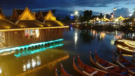 메콩강, 6개국수상시장