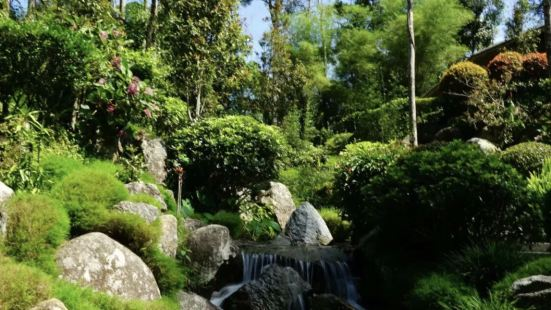 Japanese Village at Colmar Tropicale