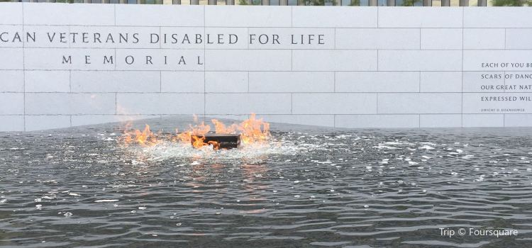 The American Veterans Disabled For Life Memorial2