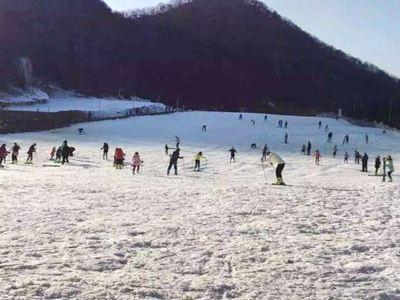 黃河石林滑雪場