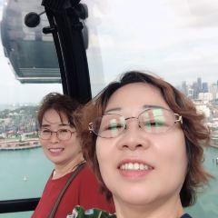 싱가포르 케이블 카 여행 사진
