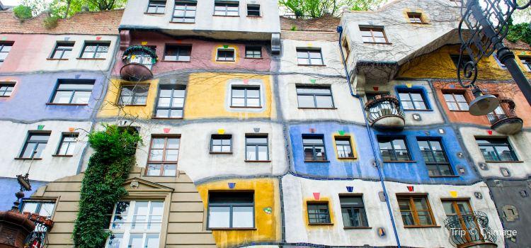 Hundertwasser House Vienna1