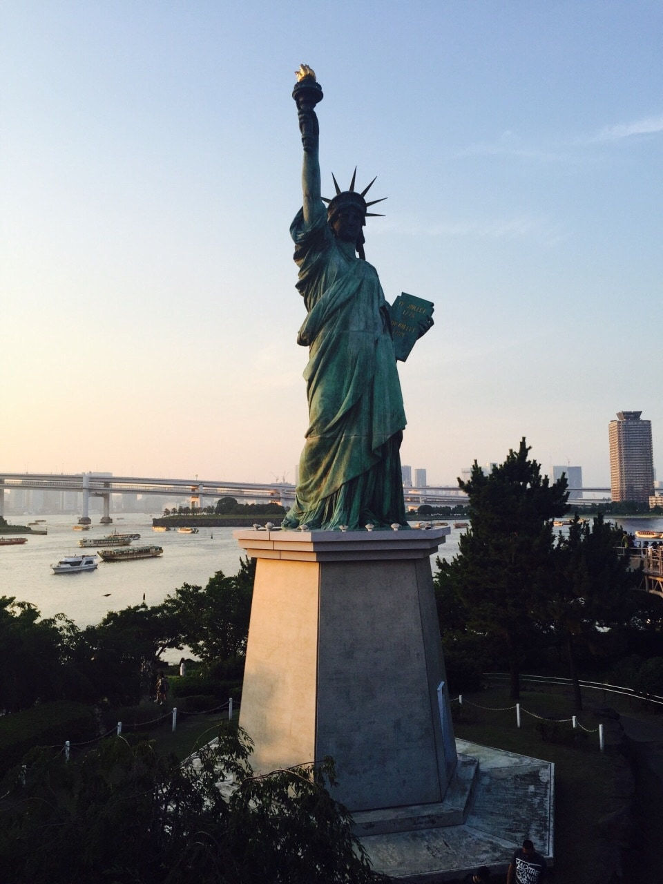 Odaiba Statue Of Liberty Tourist Attractions In Tokyo Tripcom