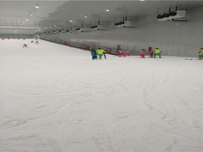 桃花雪緣室內滑雪場