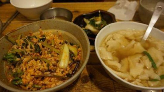 Che Budong Sujebi and Barley Rice