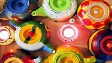 器皿藝術畫體驗課程