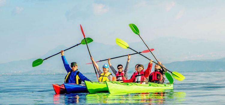 皮划艇漫遊洱海2