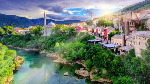 Mostar Old City