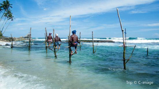希卡杜瓦海灘