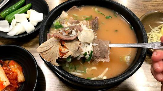 王豬肉湯飯