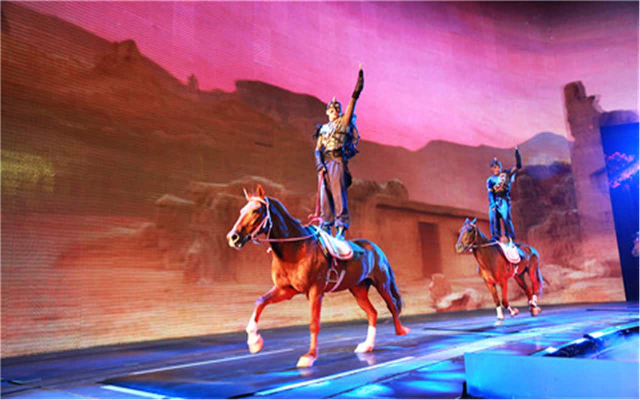 """""""Back to the Silk Road"""" Performance"""