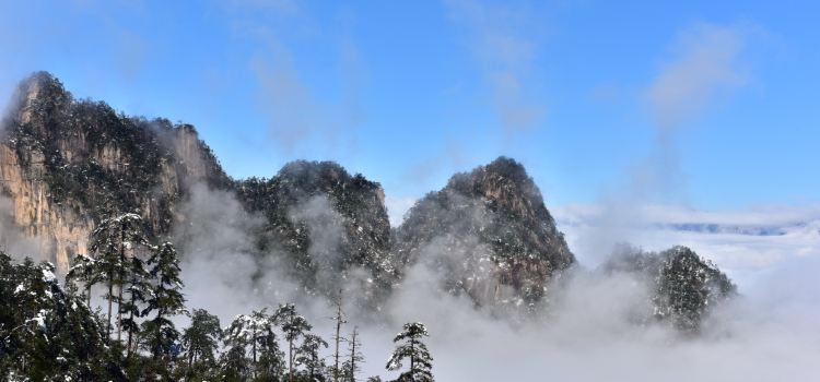 大明山萬松嶺滑雪場3