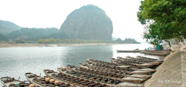 仙水岩蘆溪河竹筏漂流1