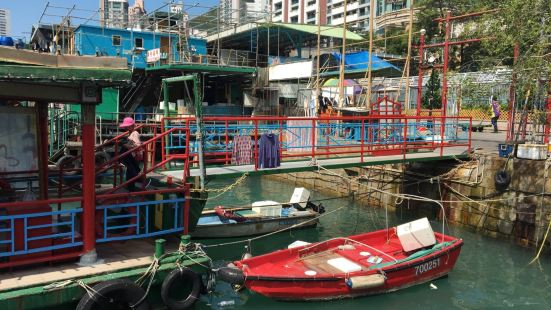 Sitting-Out Area at Aberdeen Main Road/Ap Lei Chau Bridge