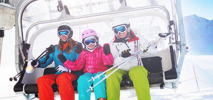 The Duolemeidi Ski Park in Saibei