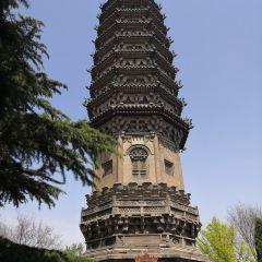 정딩 사탑 여행 사진