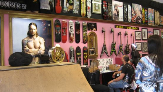LA Ink / High Voltage Tattoo & Kat Von D's Wonderland Gallery