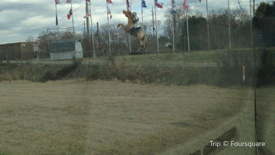 Nathan Bedford Forrest Equestrian Statue