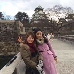 오사카 성 매림 여행 사진