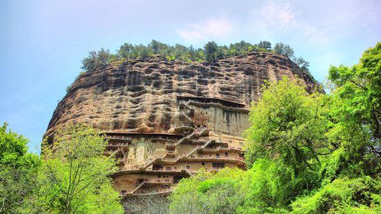 마이지산석굴