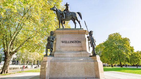威靈頓公爵塑像