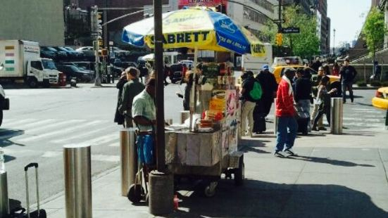 Sabrett Hot Dog Stand