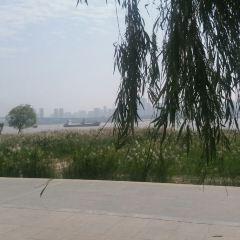 한커우 강변공원 여행 사진