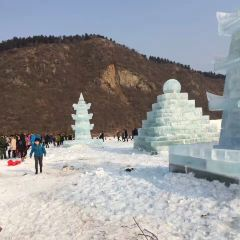 Guangfu Scenic Spot Ice Light Exhibition User Photo