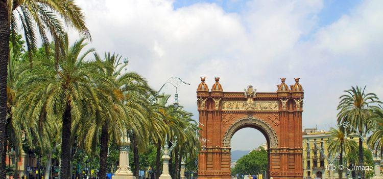 巴塞羅那凱旋門1