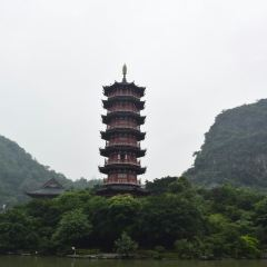 구이린 목룡호수 여행 사진