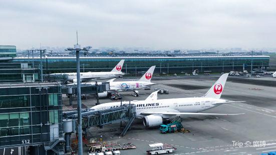 羽田機場全日空機體整備場