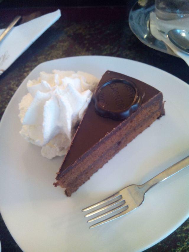 Cafe Sacher Vienna