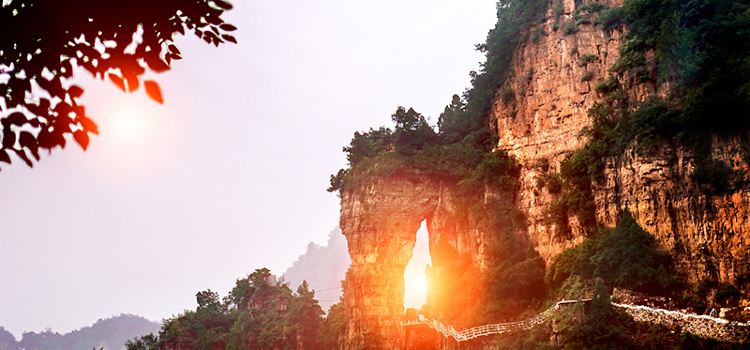 Xinglong Mountain Scenic Area2