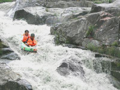 Jiamen Gorge Rafting