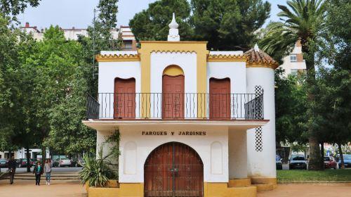 Tiered Gardens of The Alcazaba