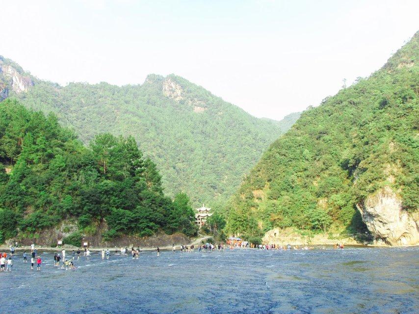 白水洋風景區