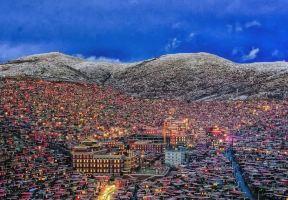 色達的雪景又火了!來看看這個神聖地方冬天的樣子