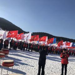 칭저우시 퉈산스키장  여행 사진