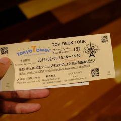 도쿄 타워 여행 사진