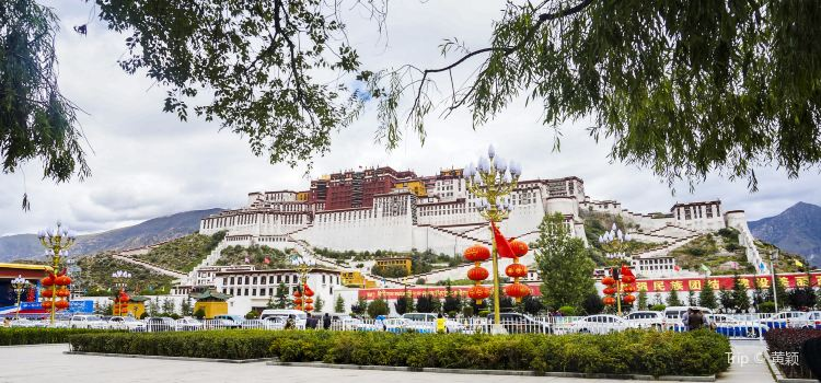 Potala Palace Square1